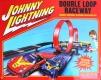 Autoworld Rennbahn AW16 Johnny Lightning Double Loop Raceway Remote Control Set