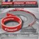 Carrera Evolution/Excl. 85509 Leitplanke 20m rot mit Aufdruck Carrera