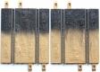 Ninco Schienen+Zubehör 10151og2 Halbe Gerade 20 cm Off Road braun/schwarz ohne OVP (VE 2))