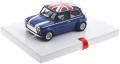 BRM Fahrzeuge BRM096B Mini Cooper Union Jack Edition blau