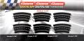 Carrera Evolution + Digital 132 / 124 20573 Kurve 3/30°, 6 Stück