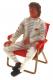 Le Mans Miniatures Figuren LMF132061M Rennfahrer Jochen m.Klappstuhl High Detail Resin Collectors Edition